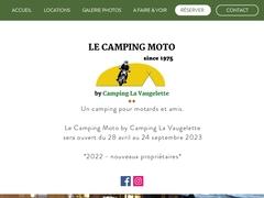 Le camping motos dans la Drôme