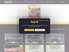Trail 70 - Moto neuve et occasion, équipement et accessoire pilote
