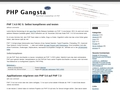 PHP Gangsta
