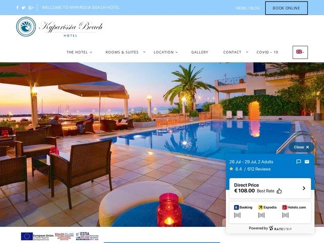 Παραλία Κυπαρισσίας - Hotel 3 * - Κυπαρισσία - Μεσσηνία - Πελοπόννησος
