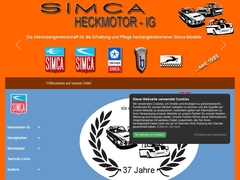 Simca Heckmotor IG Germany