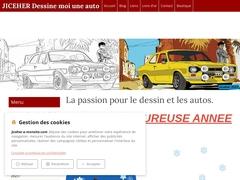 Studo JICEHER La passion pour le dessin des autos anciennes et de collection