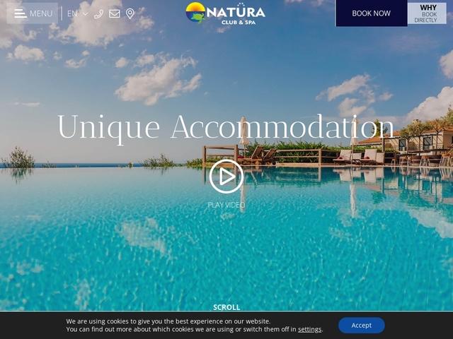 Natura Club Hotel 3 * - Καλό Νερό - Τριφυλία - Μεσσηνία - Πελοπόννησος
