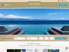Colonides Beach Hôtel 3 * - Vounaria - Koroni - Messénie - Péloponnèse
