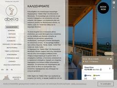 Abelia Villas Hôtel 3 Clés, Kamaria - Methoni - Messénie - Péloponnèse