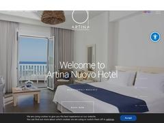 Artina Nuove - Hôtel 3 * - Marathoupoli - Messénie - Péloponnèse