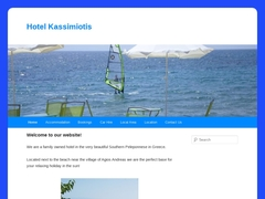 Kassimiotis Hôtel 2* - Agios Andreas - Aipeia - Messénie - Péloponnèse