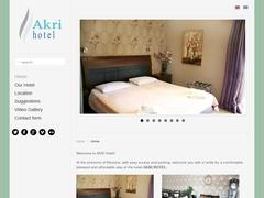 Akri - Ξενοδοχείο 2 * - Μεσσήνη - Μεσσηνία - Πελοπόννησος