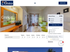Grekis - Ξενοδοχείο 2 * - Πεταλίδι - Μεσσηνία - Πελοπόννησος
