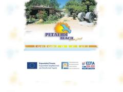 Petalidi Beach Camping, Κατηγορία Γ, Καλαμάτα - Μεσσηνή - Πελοπόννησος