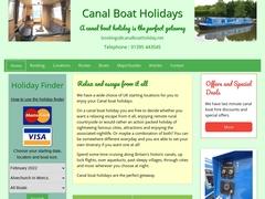 UK Canal boat holidays