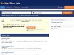 Your Maritime Jobs Site