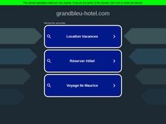 Grand Bleu Sea Resort - Hôtel 3 * - Érétrie - Grèce Centrale