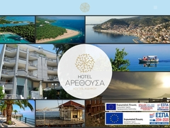 Arethousa - Hôtel  2 * - Édipsos - Eubée - Grèce Centrale