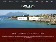Pagona - Hôtel  2 * - Édipsos - Eubée - Grèce Centrale