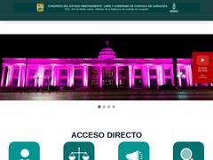Gobierno - Congreso del estado de Coahuila