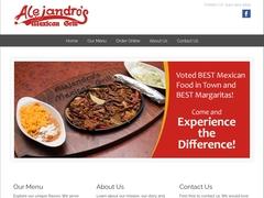 Restaurante - Alejandros Mexican Grill Bar & Restaurant, USA