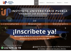 Universidades - IUP Planteles Xalapa Cordoba Veracruz