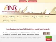 Bibliothèque numérique romande
