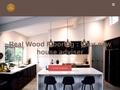 Real Wood Worktops & Real Wood Flooring