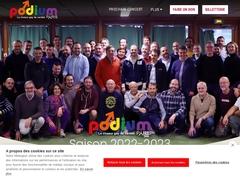 Podium Paris