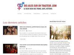 Des Ailes Sur Un Tracteur