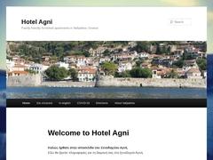 Agni Apartments Hotel 2* - Psani - Aetolia-Acarnania - Central Greece