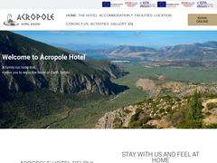Acropolis - 3 * Hotel - Delphi - Phocis - Central Greece