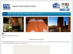 Stadion - Hôtel 2 Clés - Delphes - Phocide - Grèce centrale