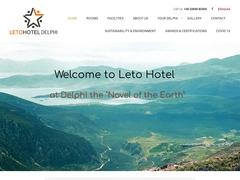 Leto - Hôtel 2 * - Delphes - Phocide - Grèce centrale