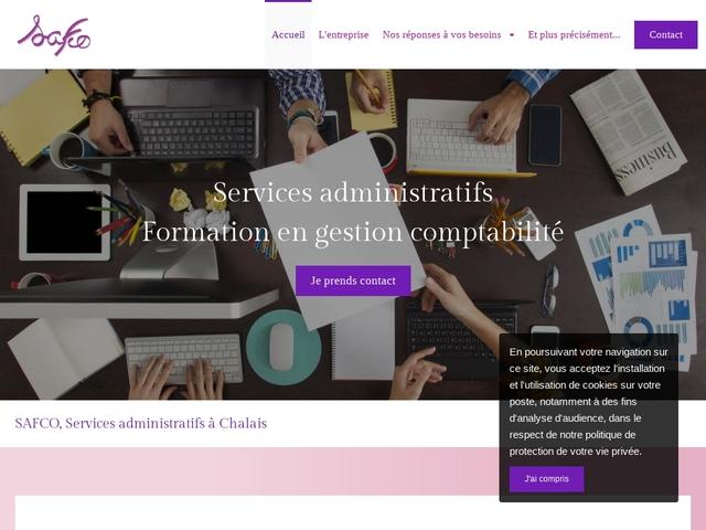 CHALAIS - SAFCO services administratifs, formation outil bureautique