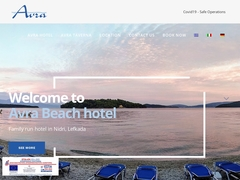 Avra Beach hôtel - Nydri