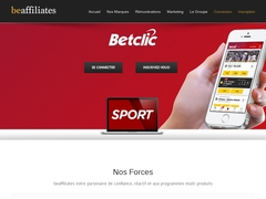Beaffiliates (affiliation Betclic)