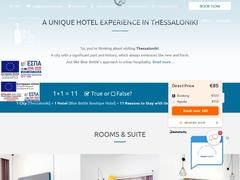 Blue Bottle - Hôtel 2 * - Thessalonique - Macédoine Centrale
