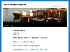 River Thames Boat Yard.