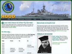 H.M.S. Hood Association-Battle Cruiser Hood