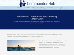 Commander Bob's Boating Safety Notebook