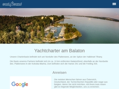 Yachtcharter Plattensee Charter Segelyachten