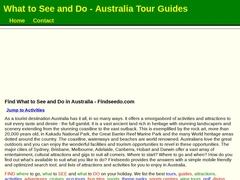 Australian Holiday Tours