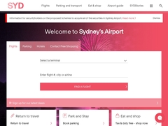 Sydney Airport travellers