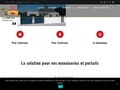 Détails : Fermetures du Porhoët - Fabricant de menuiseries, portails, clôtures PVC et aluminium
