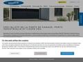 Détails :   Novoferm - Novoferm Habitat : porte de garage, porte sectionnelle, porte basculante, porte couliss