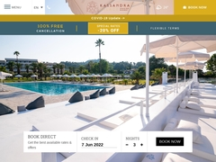 Kassandra Palace - Ξενοδοχείο 4 * - Κρυοπηγή - Κασσάνδρα - Χαλκιδική