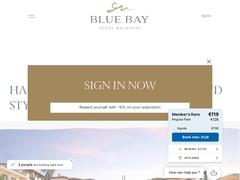 Blue Bay - Ξενοδοχείο 4 * - Άφυτος - Κασσάνδρα - Χαλκιδική