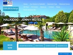 Jenny (Halkidiki) - Hôtel 3 Clés - Siviri - Cassandra - Chalcidique