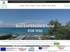 Naias Beach - Hôtel 3 * - Chaniotis - Cassandra - Chalkidique
