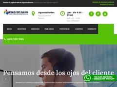 Diseño Web - Piko de Gallo