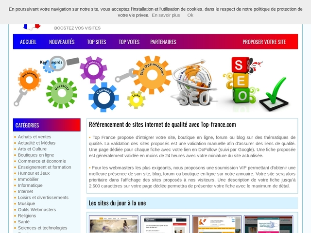Annuaire Top  France