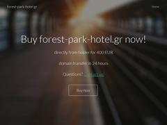 Forest Park - Hôtel 3 * - Kryopigi - Cassandra - Chalkidique