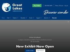 Great Lakes Aquarium - Duluth, Minnesota